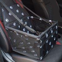 للطي إمدادات الحيوانات الأليفة ماء الكلب حصيرة بطانية السلامة الحيوانات الأليفة مقعد السيارة حقيبة مزدوجة سحر الملحقات شبكة شنقا أكياس الكلب القط في الهواء الطلق