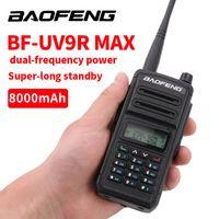 Walkie Talkie Professionelle Baofeng UV 9R MAX PLUS Zwei Way Radio 30km UV9R Transceiver VHF UHF Tragbare Schinken-CB-Station