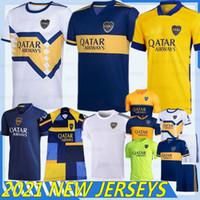20/21 Thaise Boca Juniors de Rossi Soccer Jersey Gago Osvaldo Carlitos Perez de Rossi Tevez Pavon JRS Sport Voetbal Shirt Mannen Kids Kits
