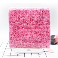Cartificial flor ramo de boda flor decoración scrapbooking bricolaje guirnalda barata falsa flores de rosa 126 K2