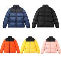 TNF abajo cubren la chaqueta de algodón amantes de la chaqueta caliente coreana casuales de la moda de las mujeres de 1996 hombres al aire libre y