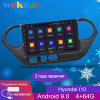 Wekeao Touch Screen 9 '' Android 9.0 Car DVD Player multimediale per I10 Grand Car Radio GPS Navigation 2013-2021