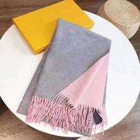 Autunno inverno donne sciarpa di seta moda signora bella 4 stagione scialle scialle sciarpa lattice lettera sciarpe taglia 180x65cm all'ingrosso hot hot
