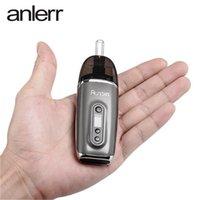 원래 Anlerr Aurola 드라이 허브 기화기 2200mAh 세련된 초본 vape 펜 키트 0.49inch OLED 디스플레이가있는 온도 제어 증기 장치