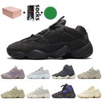 Adidas Yeezy 500 yeezys boost Kanye West 500 Running Shoes Soft Vision Venta Escayola super luna amarilla Blush Entrenadores zapatillas de deporte