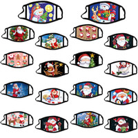 Tasarımcı Noel Cadılar Bayramı 32 Stiller Yüz Maskesi ABD Kadın Erkek Moda Kış Yıkanabilir sıcak Parti Maskesi