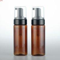 Leere Plastikflasche 150ml Brauner Schaumpumpe Gesichtsreinigungsmittel Container Kosmetik 20pcsgoods