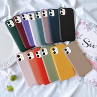Custodia in silicone morbida per iPhone 11 Pro XS Max X XR iPhone 7 8 Plus ULTRA TPU TPU Cellulare TPU Indietro Coverycyqosodn