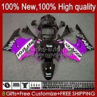 kit del cuerpo para HONDA CBR919 RR CBR900 CBR900RR CBR 919RR 900RR CBR919RR 919CC 93HC.155 brillante de color rosa 98 99 900 CBR 919 RR CC 1998 1999 carenado