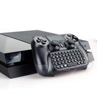 تحكم اللعبة المقود مقبض لوحة مفاتيح Bluetooth ل 4 Gamepad Controller اللاسلكي 1