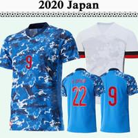 2020 Giappone National Team Mens Home Blue Soccer Jerseys New Honda Okazaki Kagawa Hasebe Nagatomo Camicie da calcio Uniformi Top