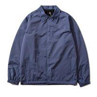 Mens north face Jackets 윈드 브레이커 가을 새로운 후드 자수 코트 캐주얼 겉옷 거리 커플 겨울 코트 얇은 면화 자켓