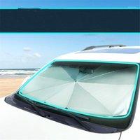 Voiture pare-soleil Sunshade Sun Block Sunscreen Heart isolation de chaleur avant pare-brise de pare-fenêtres avant couverture de visière1