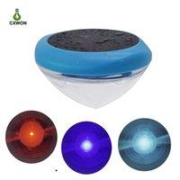 태양 전원 LED 물 부동 공 램프 IP65 RGB 수 중 드리프트 램프 마당 연못 정원 수영장 장식 빛