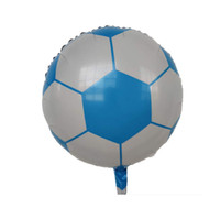 Balões de alumínio balões de desenhos animados balão decoração balão para crianças decoração de aniversário de 18 polegadas de basquete de futebol G10706