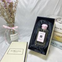 Dropshipping En Kaliteli Jo Malone Londra Kadınlar Perfum 100 ML Sakura Kiraz Çiçeği Köln Köln Kadınlar için Parfümler Kokular