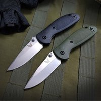 benchmade BM556 556 EDC plegable que acampa del cuchillo plegable de la supervivencia entrenador mariposa regalo de Navidad Cuchillo a3071