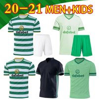 20 21 McGregor Griffiths Celtic Soccer Trackys Sinclair Forrest Браун Rogic Bayo Christie Home Футбольная рубашка Мужчины Детский комплект