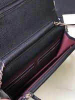 2021 Mini tamaño clásico Colores Cadena de mujer Carteras con diseñadores de cajas Bolsos Bolsos Lujos Diseñadores Bolsos Bolsa de Hombro Bolso Crossbody Bolsa Bolsa de Cadena de Mujer