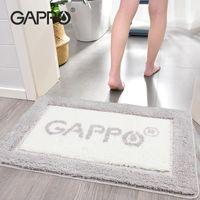 Tapetes Gappo Non Slip Bath Mat Super Absorvente Banheira Tapetes Banheira Pavimento Capacho para Duche Casa de Banheiro
