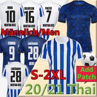 20/21 Hertha Bsc Soccer Jersey Piatek 2021 Darida Cunha Футболка Dilrosun Berlin Hertha Lukebakio Duda Fußball-Trikot