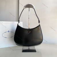 2020 Top Quality Real Leather Pelle Cleo Spoved Tote Pelle Nylon in pelle di lusso Designer uomo Borsa a tracolla da donna Hobo Crossbody Borse Borse