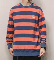 Street clothes Pullovers Sweatshirts trend loose round collar Men's hoodie sweatshirt casual long-sleeved T-shirt
