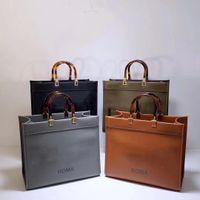 Frauen Luxurys Designer Taschen 2021 Hochwertige Einkaufstasche Ledermaterial Bernstein Doppelgriff Große Kapazität Brief Schulter Damen Geschenk