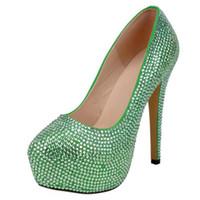 Sukienka Buty Duży Rozmiar Damskie Wysokoś Heeled Sandals Sandals Moda Oddychająca Niestandardowa Ślubna Obiad Kryształowy Butę Bridal