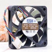 60mm PWM Fan Slim per AVC DA06010B12U 10mm Spessore 6010 12V 004 60 * 60 * 10mm Volume ad aria ultrasottile Volume di raffreddamento del volume1