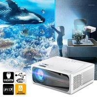 프로젝터 UNIC C600 네이티브 1080P HD 프로젝터 LED Proyector 1280 x 720P 3D 비디오 무선 WiFi 멀티 스크린 빔 홈 시어터 PK CP6001