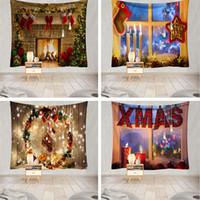 2020 Nuovo Natale panno appeso Decorazione natalizia Arazzo Camera Shu Fang tela di fondo arazzo di Natale T3I51413