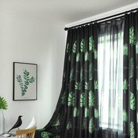 Curtains for Living Room Simple Modern Nordic Plant Curtains...