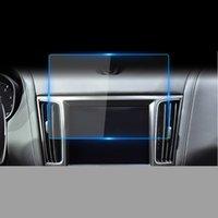 Película de acero de navegación por automóvil GPS para Maserati Levante 2016 2018 2019 Control Central LCD Pantalla LCD Vidrio Templado HD Película protectora