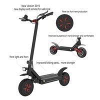 10 pulgadas Potente Scooter eléctrico 3600W 60V Scooters eléctricos de dos ruedas Adultos Ecorider E4-9 Scooter eléctrico plegable Patineta