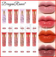 Dragon Ranee 12 ألوان True Lip Plumping تأثير كبير الفم الشفاه لمعان بلسم السائل أحمر الشفاه مرطب دائم جيلي الشفاه لمعان