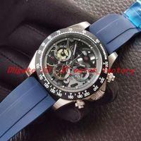 Nuovo orologio da uomo Montre de Luxe Sapphire Superficie Retrojes Deporvos Para Hombres Wristwatch da polso di alta qualità VK Cinturino in gomma quarzo