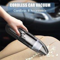Aspirateur de voiture portable Aspirateur haute puissance Vacuum de poche DC 12V Auto Mini Mini Pierre de compagnie avec Cordon d'alimentation 14.8ft Filtre lavable1