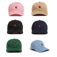 2021 Populäre Seltene Rare Die Popkappe Marke Hundert Rose Strap Back Ball Dad Cap Männer Frauen Einstellbar 6 Panel Golf Snapback Baseball Hüte