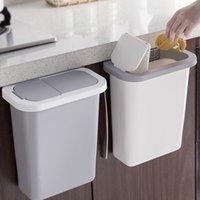 Armário montado lixo cozinha cozinha lixo lixo lixo com tampa vj-drop lj200815