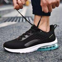 Com Free Socks 2021 Vermelho Azul Amarelo Negro Homens Casuais Sapato Homens Treinadores Ao Ar Livre Sports Sneakers Respirável Jogging Correndo Tênis Tamanho39-44