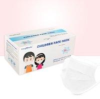 DHL jetable libres enfants Protection d'expédition Santé personnelle Masque de santé à 3 couches enfants réutilisables Couvercle de visage réutilisable Masques hygiéniques de la bouche