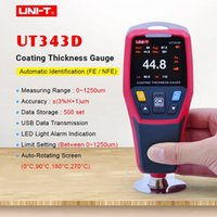 Uni-T UT343D Толщина Номер Толщина Цифровая Покрытие Манометров Измеритель Автомобили Толщина Тестер Fe / NFE Измерение USB Данные