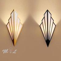 LED 벽 램프 크리 에이 티브 간단한 벽 Sconces 로프트 주방기구 현대 빛 계단 벽 + 옆에 홈 데코 Lumiaires 램프