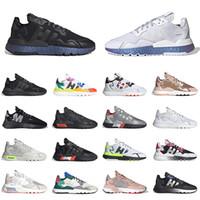 신발 adidas boost 3m nite jogger joggers 남성 여성 운동화 트리플 화이트 올 블랙 반사 제노 로즈 골드 워킹 조깅 스포츠 스니커즈 남성 트레이너