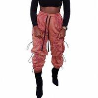 Женские брюки Cakris повседневная Harajuku Joggers Harem женская мода корейский стиль зашнуровать спортивные штаны осень высокие улицы свободно грузовые брюки