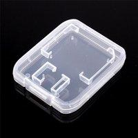ذاكرة تخزين بطاقة القضية حامل كاري صندوق صندوق تخزين للSD بطاقة TF البلاستيك القياسية SD SDHC حالة صندوق