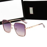 Hotsale Luxury New Fashion Womens Occhiali da sole Occhiali da sole vintage Occhiali da sole Occhiali Designer Outdoor Style Goggles con scatola regalo