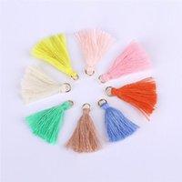 100pcs Color Mini Tassel Fringe Pendant Diy Hanging Ring Party Cords Tassel Trim Garments Curtains Jewelry Decor Tassels Lace H jllzhj