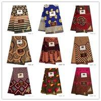 Tessuto Africano Ankara di alta qualità Vera di alta qualità Stampa di stampa di cera stampa 100% poliestere Vera cera africana per vestito 2301 T200529